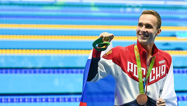 Русский пловец Антон Чупков завоевал «бронзу» вРио