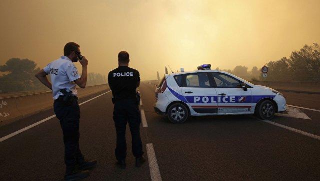 Природные пожары вокрестностях Марселя вышли из-под контроля