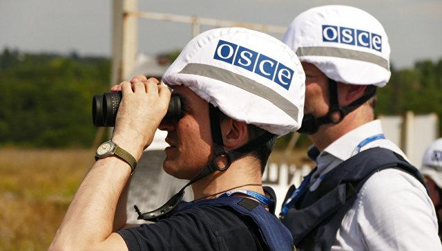 СМИ сообщили о гибели американца при подрыве машины ОБСЕ под Луганском