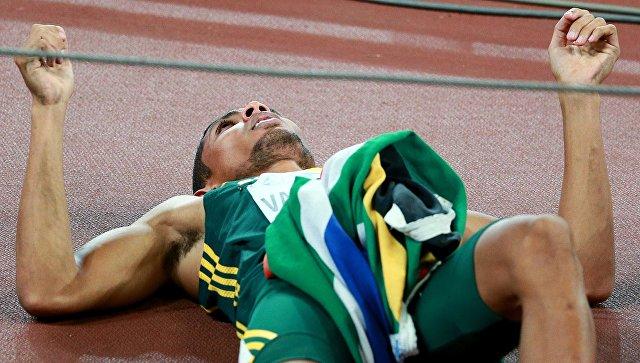 Ван Никерк смировым рекордом одержал победу забег на400 метров