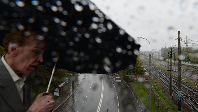 """Теплая погода с превышением климатической нормы на 5-6 градусов ожидается в Москве в предстоящие выходные, однако в субботу могут пройти небольшие дожди, сообщил РИА Новости в пятницу представитель центра погоды """"Фобос""""."""