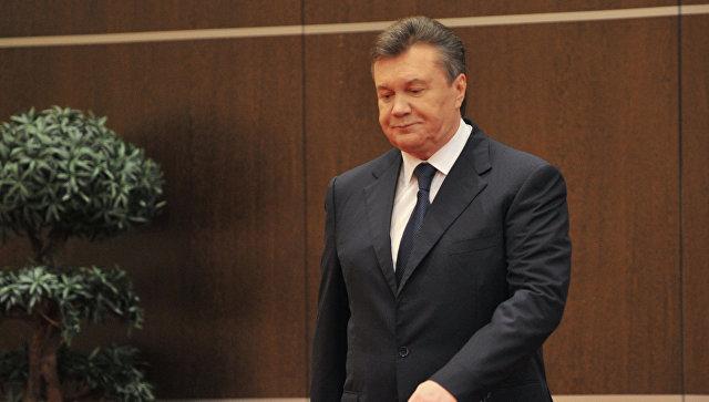 Экс-президент Украины Виктор Янукович. Архивное фото