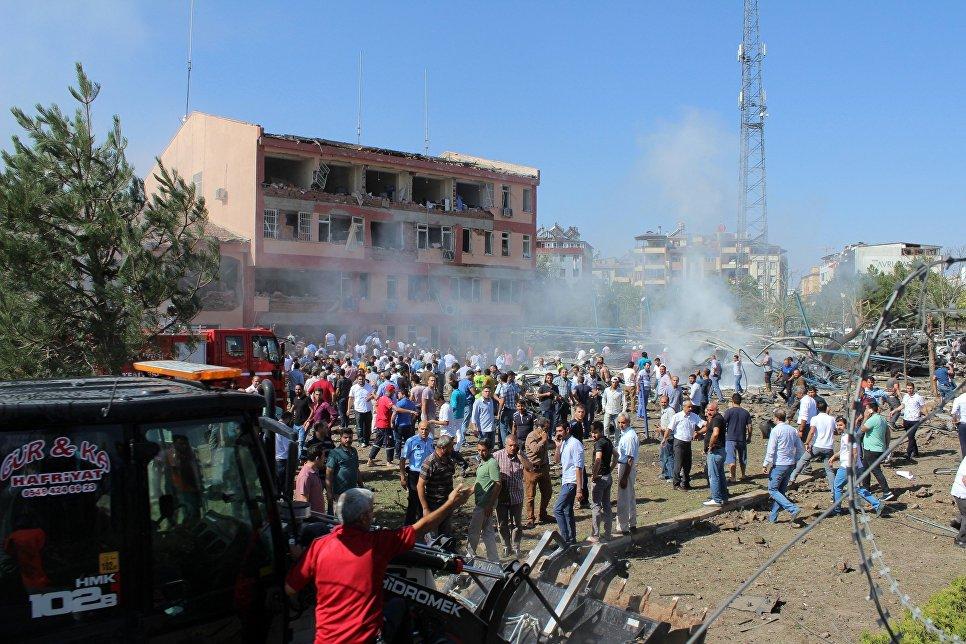 ВТурции схвачен предполагаемый организатор взрыва навостоке страны
