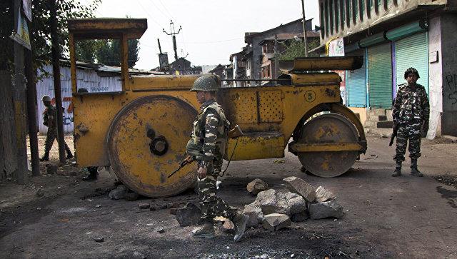 Индийские военные в Кашмире. Архивное фото