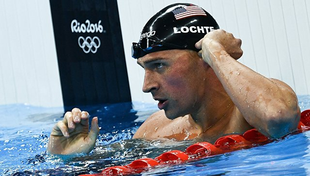 Американский пловец-лжец Райан Лохте отстранен от состязаний