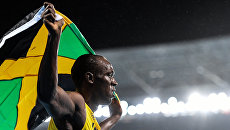 Усэйн Болт (Ямайка) на XXXI летних Олимпийских играх