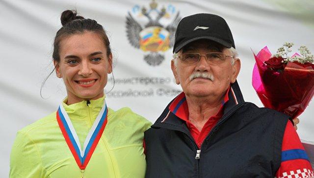 Тренер Елены Исинбаевой берет паузу вкарьере