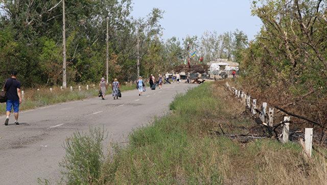 «Правый сектор» обстрелял КПП уСтаницы Луганской— национальная полиция ЛНР