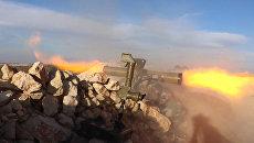 Сирийские солдаты обстреливали боевиков из комплексов Конкурс-М в Кобани
