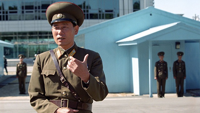 Пограничники КНДР. Архивное фото