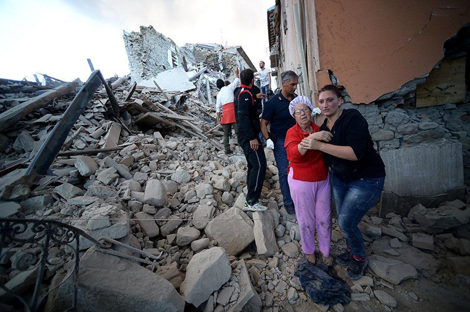 Землетрясение вИталии забрало жизни как минимум 120 человек