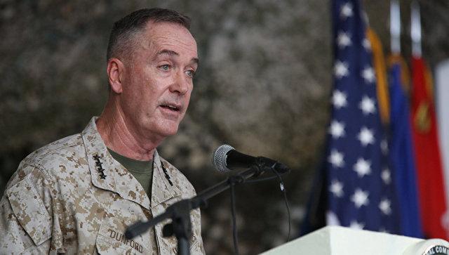 Генерал Джозеф Данфорд. Архивное фото