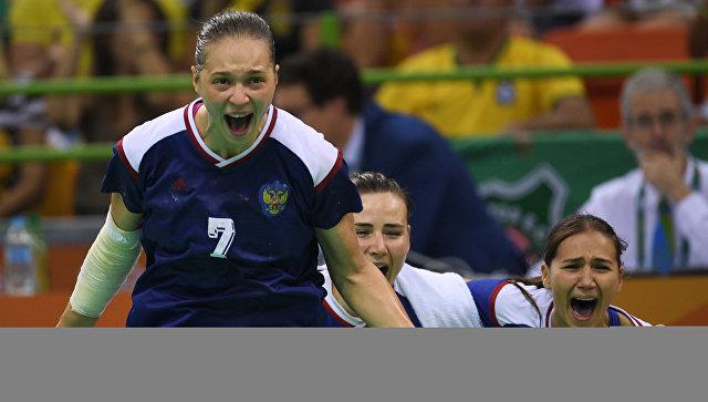 Женской сборной Российской Федерации погандболу неудалось выйти вполуфиналЧЕ