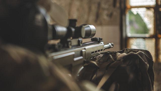Снайперская винтовка, архивное фото