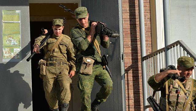 Дислоцированные вЧечне иДагестане мотострелковые бригады совершили марши наполигоны