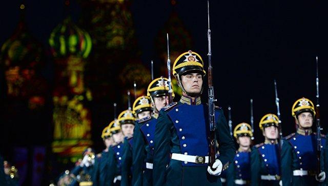 В столице России стартует фестиваль военных оркестров «Спасская башня»