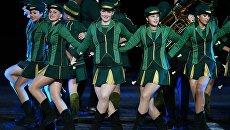 Шоу-бэнд города Лашко (Словения) на церемонии открытия Международного военно-музыкального фестиваля Спасская башня - 2016