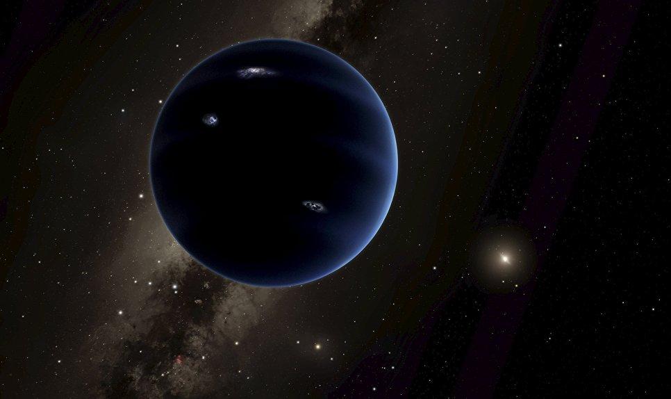 Так художник изобразил новую планету, открытую учеными