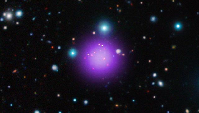 Астрономы обнаружили древнейший кластер галактик воВселенной