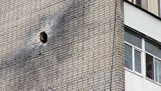 Последствия обстрела города Ясиноватая в Донецкой области. Архивное фото