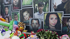 Портреты погибших в результате войны детей Донбасса. Архивное фото