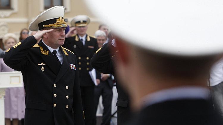 Главком ВМФ адмирал Чирков подал рапорт об увольнении