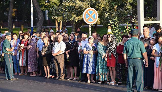 ВСамарканде началась церемония прощания сКаримовым