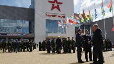 Открытие Международного военно-технического форума АРМИЯ-2016. Архивное фото