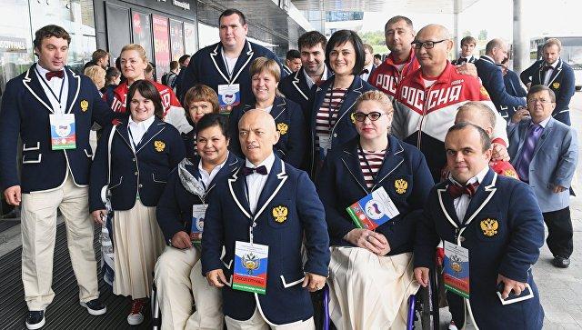 Состязания для отстраненных отПаралимпиады россиян открылись в столице