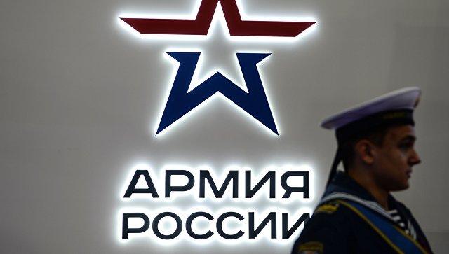 Посетитель на Международном военно-техническом форуме АРМИЯ-2016