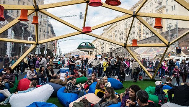 Торт «Москва» разошёлся наТверской улице вколичестве 9 тыс.  порций