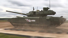 Демонстрация танка Т-14 Армата. Архивное фото