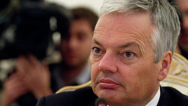 Министр иностранных дел Бельгии Дидье Рейндерс, архивное фото