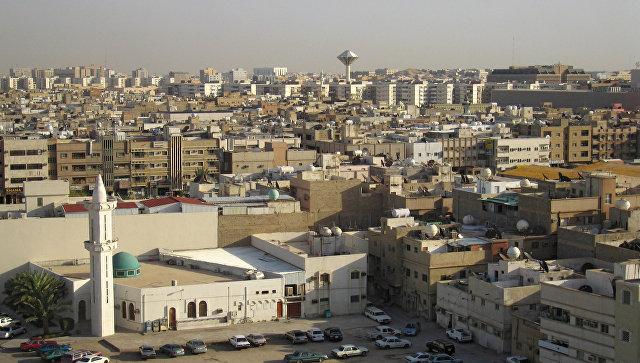 Вид города Эр-Рияд, архивное фото