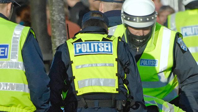 Полиция Эстонии. Архивное фото