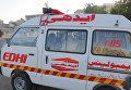 Карета скорой помощи в Пакистане. Архивное фото