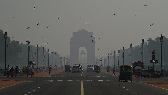 В столице Индии. Архивное фото