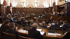 Заседание сейма Латвии. 15 сентября 2016