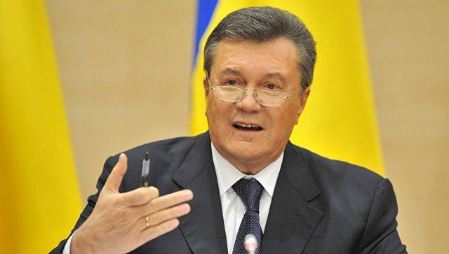 Беглый Янукович призываетЕС ввести санкции против действующей власти Украинского государства