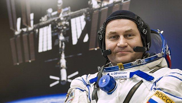 Член основного экипажа МКС-47/48 космонавт Роскосмоса Алексей Овчинин. Архивное фото