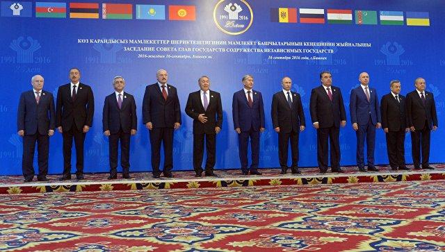 Премьер Павел Филип участвует в совещании  Совета глав стран  СНГ