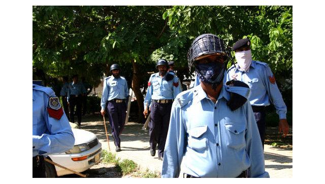 Полицейские в Пакистане. Архивное фото