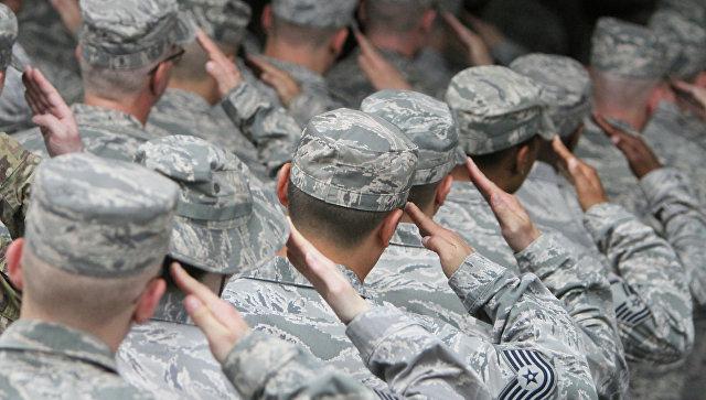 Военнослужащие США . Архивное фото