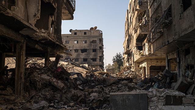 Обстрел Дамаска. Архивное фото