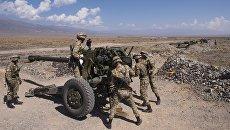 Военнослужащие во время международных антитеррористических учений ШОС Мирная миссия-2016. Архивное фото