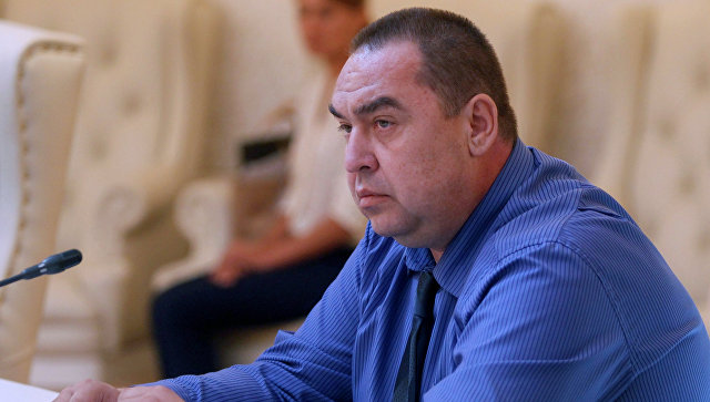 Глава Луганской Народной Республики Игорь Плотницкий. Архивное фото