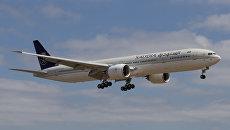 Самолет Boeing-777-200 авиакомпании Saudi Arabian Airlines. Архивное фото
