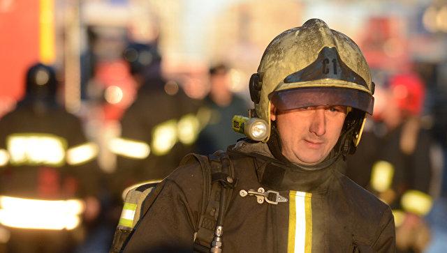 В МЧС назвали возможную причину пожара в Пермском крае