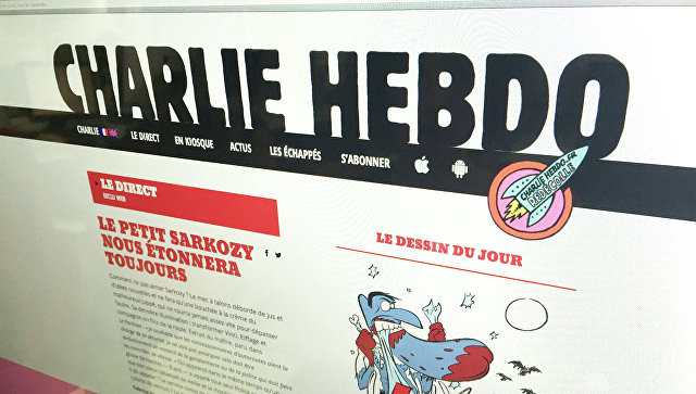 Путин иТрамп стали героями выпуска Charlie Hebdo