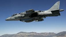 Американский истребитель AV-8B Harrier. Архивное фото